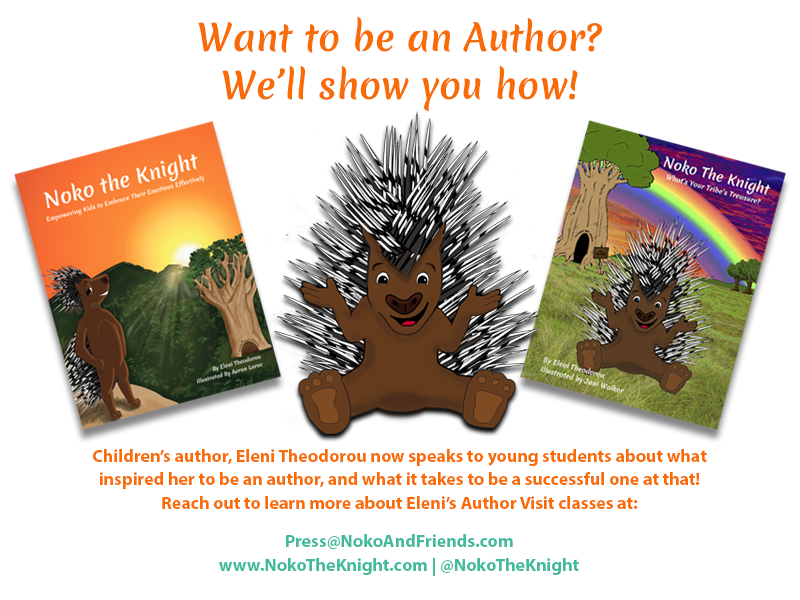 Author Eleni Theodorou Visits you!